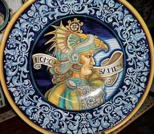 Ceramiche d\'Arte Vecchia Deruta | Viaggiare per conoscere