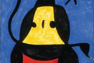 Joan Mirò, Untitled, 1978, olio su tela. Fundació Pilar i Joan Miró, Mallorca © SUCCESSIÓ MIRÓ by SIAE 2012