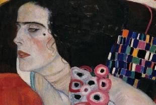 Gustav Klimt, Giuditta II (Salomé), 1909 Olio su tela 176 x 46 cm. Venezia, Ca' Pesaro – Galleria Internazionale d'Arte Moderna, Venezia ©Archivio fotografico Fondazione Musei Civici di Venezia 2012