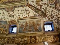 Palazzo Spada - il soffitto della sala consiliare