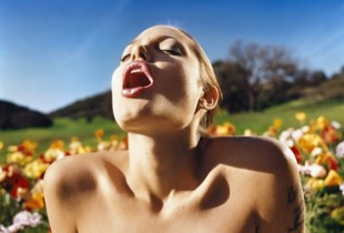 David LaChapelle Angelina Jolie: Lusty Spring, 2001 © David LaChapelle, Courtesy of Fred Torres Collaborations, New York