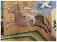 Palazzo Poste e Telegrafi - Particolare del mosaico