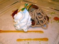 Ristorante La Barrique - monte bianco in salsa di cachi