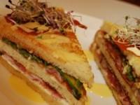 Sandwich delo chef stellato giancarlo Morelli - Osteria del Pomiroeu