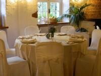 Una sala interna del ristorante Il Patio
