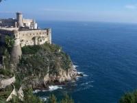 Il Castello di Gaeta visto dal Monte Orlando