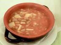 Zuppa patate e fagioli