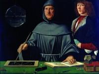 Jacopo de barberi- Ritratto di fra Luca Paciolli e giovane allievo