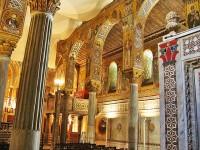 La Cappella Palatina, all'interno del palazzo dei Normanni