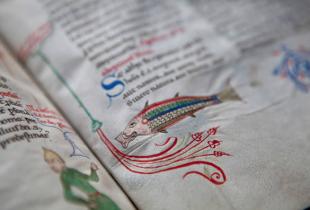 Codice miniato della Biblioteca Guarneriana