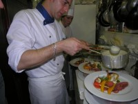 La cucina del ristorante Amelie