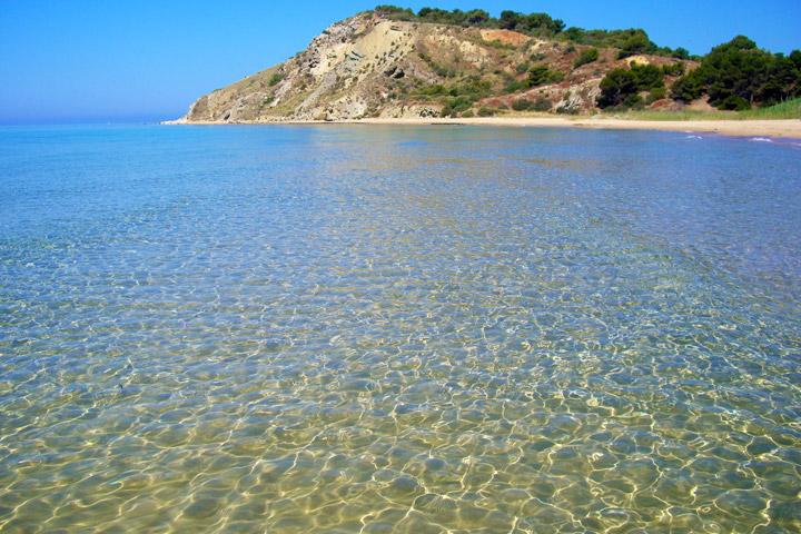 Tra dune, 'trubi' e mare trasparente