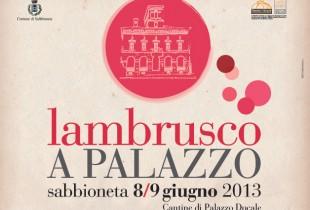 Lambrusco a Palazzo