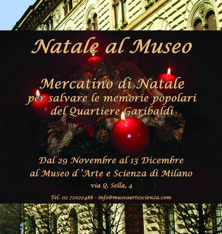 Mercatino di Natale al Museo d'Arte e Scienza