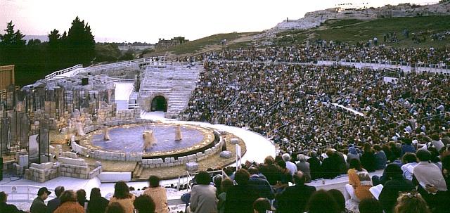 Le tragedie greche a Siracusa