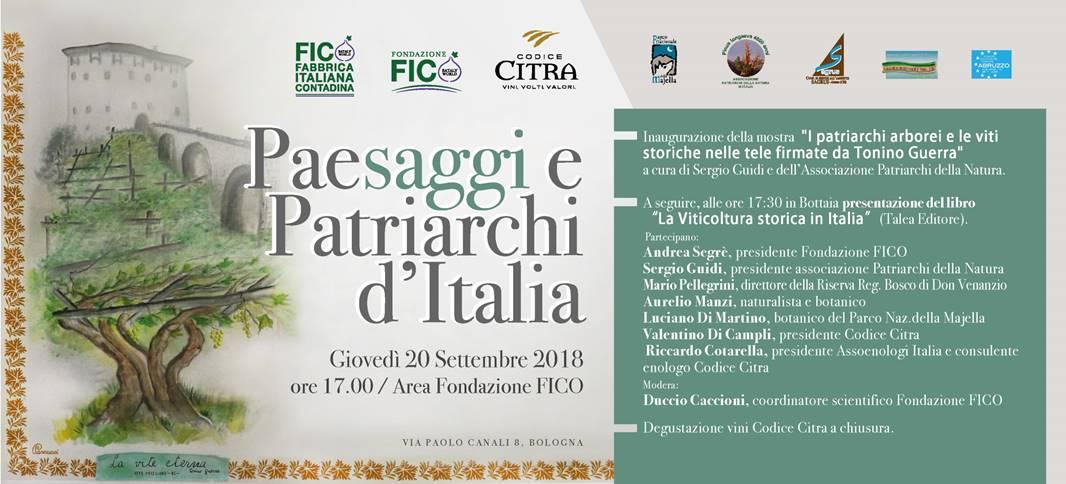 Paesaggi e patriarchi d'Italia