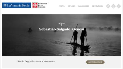 Mostra di Sebastião Salgado alla Venaria di Torino