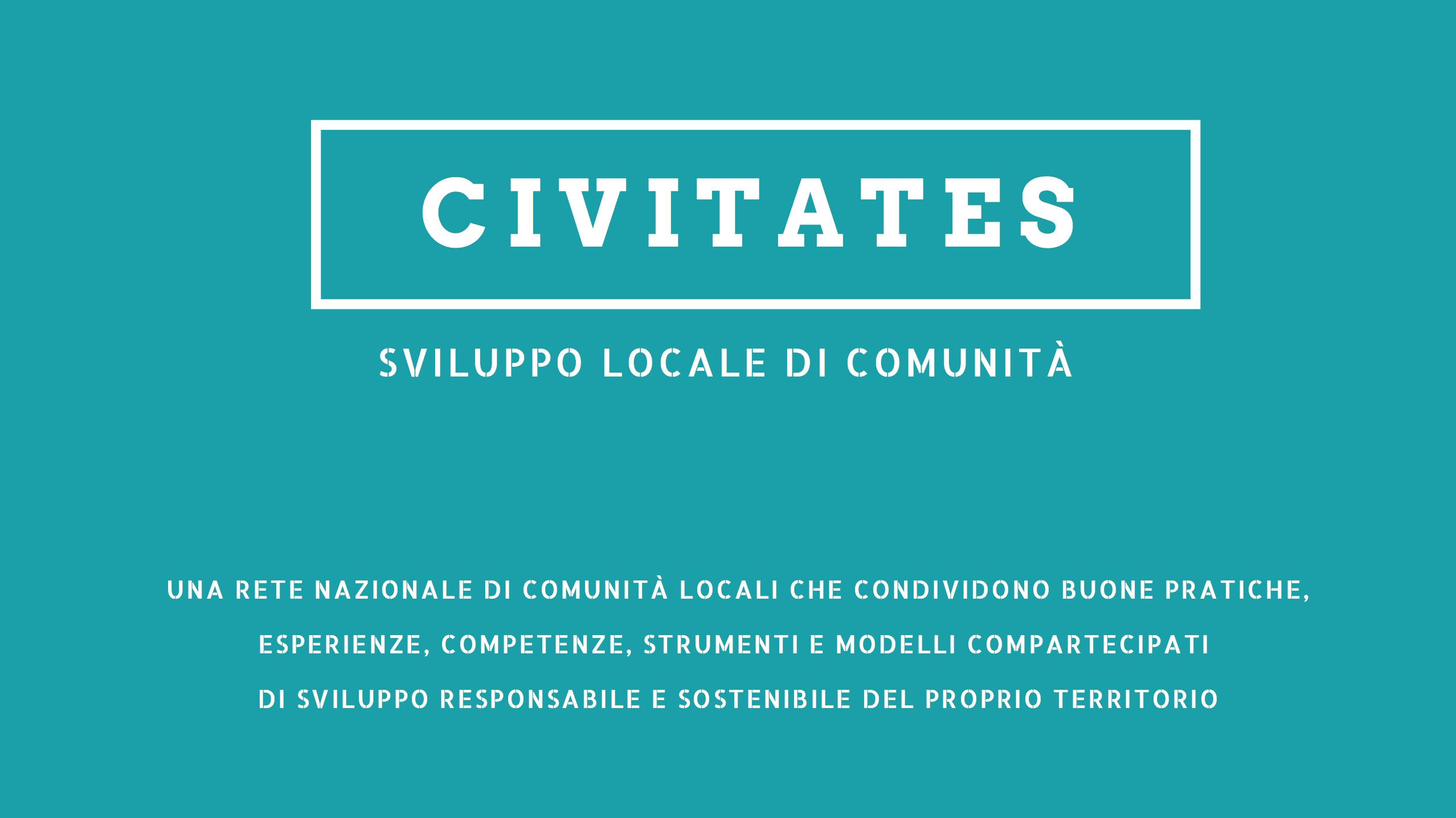 Nasce la rete delle comunità locali Civitates