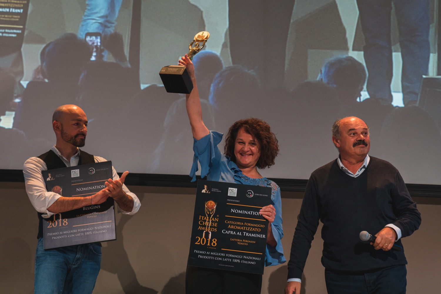 La Latteria Perenzin vince l'Italian Cheese Awards 2018